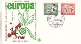 Europa 1960 - Allemagne - République Fédérale - Lettre FDC De 1965 - Oblit Schramberg - [7] Repubblica Federale