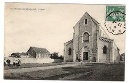 14 CALVADOS - GRANDCAMP LES BAINS L'Eglise - Other Municipalities
