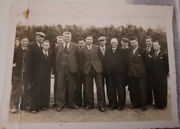 Rare Photo Du Comité Sportif De Moelan 1942 Avec Noms - Moëlan-sur-Mer