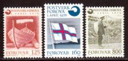 Feroe (Iles) 1976 Yvert 15 / 17 ** TB - Féroé (Iles)