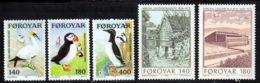 Feroe (Iles) 1978 Yvert 30 / 34 ** TB - Féroé (Iles)