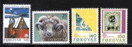 Feroe (Iles) 1979 Yvert 35 / 38 ** TB - Féroé (Iles)