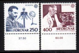 Feroe (Iles) 1983 Yvert 78 / 79 ** TB - Féroé (Iles)
