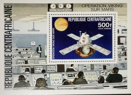 Central African Republic 1976 Viking Mars Project S/S - Central African Republic