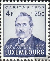 Luxemburg 503 MNH 1952 Caritas - Nuevos