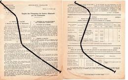 Document: Emploi Des Prisonniers De Guerre Allemande, Dans Les Communes- - Documents