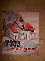 Tract Propagande Vichy Marechal Petain - 1939-45