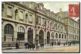 CPA Paris Le Lycee Janson De Sailly Entree Principale - Formación, Escuelas Y Universidades