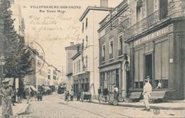 CPA - France - (69) Rhône - Villefranche-sur-Saone - Rue Victor-Hugo - Villefranche-sur-Saone