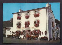 CPSM 22 - SAINT-GILLES-VIEUX-MARCHE - HOTEL DES TOURISTES NEVO LE BIHAN - TB PLAN Façade Etablissement - Saint-Gilles-Vieux-Marché