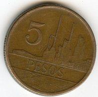 Colombie Colombia 5 Pesos 1988 Date Inversée KM 268 - Colombie