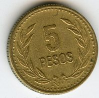 Colombie Colombia 5 Pesos 1989 KM 280 - Colombie