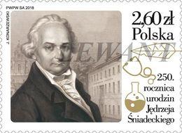 2018.11.30. The 250th Anniversary Of The Birth Of Jedrzej Sniadecki - MNH - 1944-.... Republic