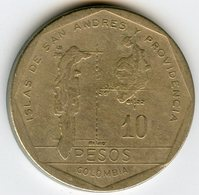 Colombie Colombia 10 Pesos 1988 KM 270 - Colombie