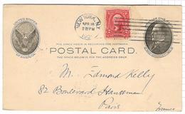 10571 - Avec Repiquage Pour La France - Postal Stationery