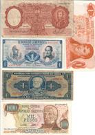 America Lot Of 5 Old Banknotes - Banconote