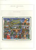 PIA  -  BELGIO  - 1996  : Natale - Ricordo Di Un Vecchi Mercatino   - (Yv  2671-79) - Cristianesimo