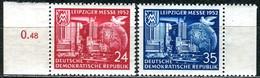 DDR - Mi 315 / 316 - ** Postfrisch (B) - 24-35Pf    Leipziger Herbstmesse 52 - [6] République Démocratique