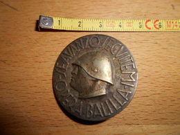 Insigne Italien Original D Epoque 39/45 Mussolini - 1939-45
