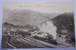 LAVELANET-La Montagne Ste Ruffine Et La Gare - Lavelanet