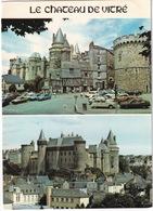 Vitre: CITROËN 2CV, BX, VOLVO 340 DL, RENAULT 4, 5, 14, 20 - Le Chateau - Toerisme