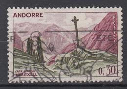 ANDORRA (Frans) - Michel - 1961 - Nr 169 - Gest/Obl/Us - Andorre Français