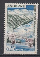 ANDORRA (Frans) - Michel - 1966 - Nr 195 - Gest/Obl/Us - Andorre Français
