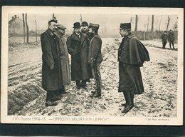 CPA - GUERRE 1914-15 - Officiers Belges Sur Le Front - Guerre 1914-18