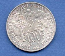 Zola  - 100 Francs 1985  - état  SUP - France