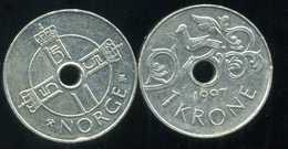 NORVEGE 1 Krone  1997 - Norvège
