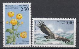 ANDORRA (Frans) - Michel - 1992 - Nr 441/42 - MNH** - Andorre Français