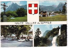 Haute Vallée Du Giffre: RENAULT DAUPHINE, 5x CITROËN 2CV, PANHARD PL17 - Le Tenneverge, Samoens, Cascade - Toerisme