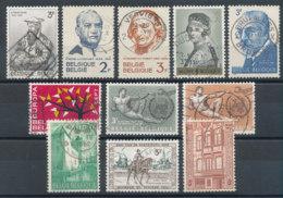 Belgique Lot De 11 Timbres De 1962 - Belgique