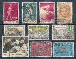 Belgique Lot De 10 Timbres De 1963 - Belgique