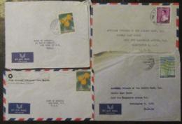 Liban - Lot De 7 Enveloppes Timbrées Vers Etats-Unis à étudier - Tous états - Liban