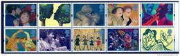 Great Britain 1995 Artists Set Of 10 - 1952-.... (Elizabeth II)