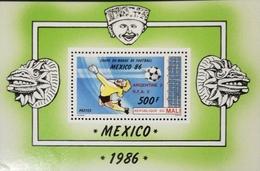 Mali 1986  World Cup S/S Overt.Scott 541 - Mali (1959-...)