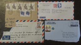 Asie (Chine, Japon, Népal, Corée) - Lot De 26 Enveloppes Timbrées Vers étranger à étudier - Timbres