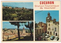 Cucuron: CITROËN GS, AMI BREAK, VW 1200 KÄFER/COX, SIMCA 1100, 1000  - Eglise Notre-Dame - (Vaucluse) - Toerisme