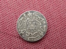 MAROC  Abd Al -Aziz, 1/2 Dirham 1317 Paris - Maroc