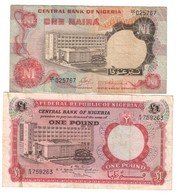 Nigeria Lot Set 1 Pound & 1 Naira - Nigeria