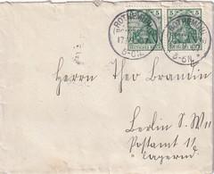 ALLEMAGNE 1907 LETTRE DE ROTHEMÜHL - Brieven En Documenten