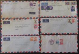 Moyen-Orient (Pakistan, Bengladesh, Etc... - Lot De 43 Enveloppes Timbrées Vers étranger Ou Non, à étudier - Timbres