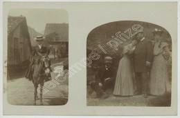 (Abondance) Hameau De Charmy . Excursion à Dos De Mule . Photo Circa 1904 . - Abondance