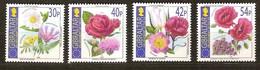 Gibraltar 2003 Yvertn° 1051-1054 *** MNH Cote 8,50 Euro Flore Fleurs Bloemen - Gibraltar