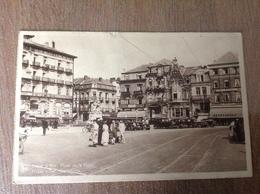 Heyst S/Mer Place De La Gare - Cartes Postales