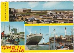 Riva Bella: RENAULT DAUPHINE, 4, ESTAFETTE, CITROËN DS, PEUGEOT 403, 203, SIMCA - Navire De Croisière, Phare (Calvados) - Toerisme