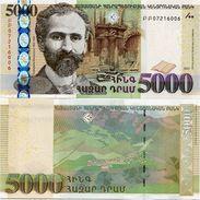 ARMENIA       5000 Dram       P-56       2012       UNC - Armenia
