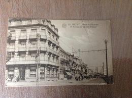 Heyst S/Mer Hotel De L'univers Et Avenue Ursel - Cartes Postales