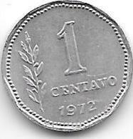 *argentina 1 Centavo 1972  Km 64  Unc - Argentine